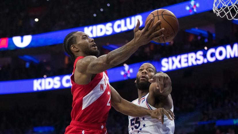 Toronto Evened The Score In Game With Philadelphia 76ers