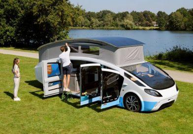 Electric motorhome sets off on a 3,000-kilometer journey