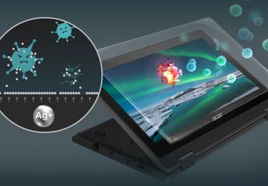 Acer launches production of notebooks and tablets made of antibacterial materials